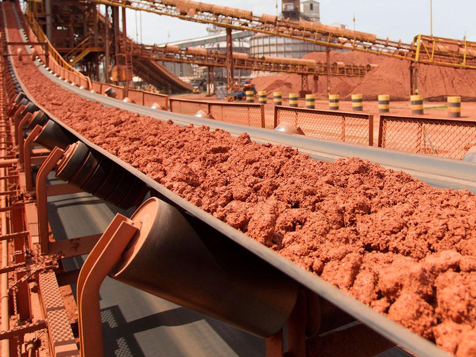 Extraction de la bauxite