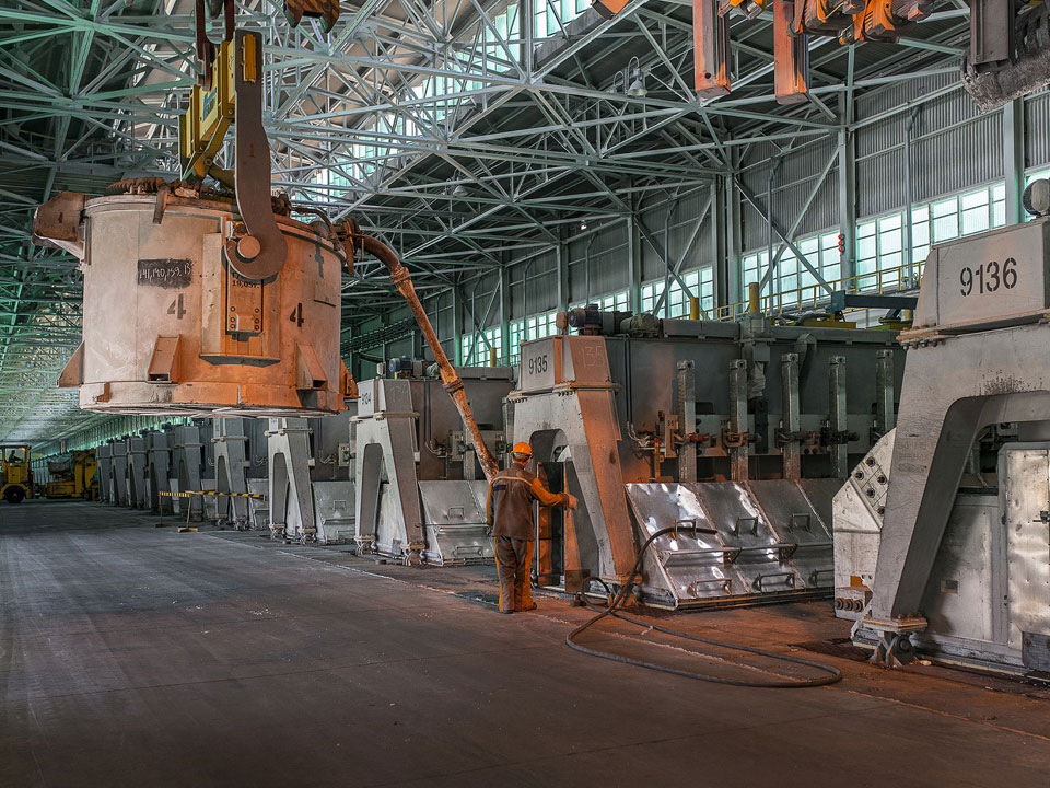Production d'alumine primaire